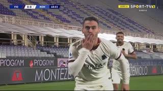 GOLO! Roma, L. Spinazzola aos 48', Fiorentina 0-1 Roma