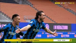 GOLO! Internazionale, M. Darmian aos 77', Internazionale 1-0 Cagliari