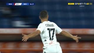 GOLO! Benevento, G. Caprari aos 5', Roma 0-1 Benevento