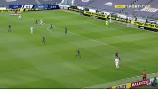 GOLO! Juventus, Cristiano Ronaldo aos 13', Juventus 1-0 Napoli