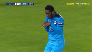 GOLO! Spezia, E. Gyasi aos 35', Cagliari 0-1 Spezia
