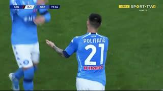 GOLO! Napoli, M. Politano aos 79', Genoa 2-1 Napoli