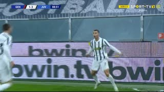 GOLO! Juventus, Cristiano Ronaldo aos 89', Genoa 1-3 Juventus