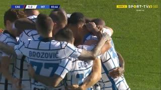 GOLO! Internazionale, D. D'Ambrosio aos 84', Cagliari 1-2 Internazionale