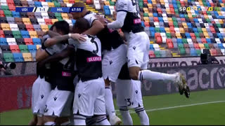 GOLO! Udinese, R. de Paul aos 48', Udinese 1-1 Milan