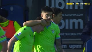 GOLO! Lazio, A. Marušić aos 3', Atalanta 0-1 Lazio