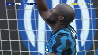 GOLO! Internazionale, R. Lukaku aos 71', Internazionale 5-0 Udinese