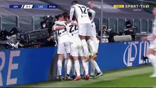 GOLO! Juventus, Álvaro Morata aos 60', Juventus 3-1 Lazio