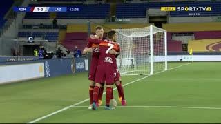 GOLO! Roma, H. Mkhitaryan aos 42', Roma 1-0 Lazio