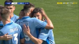 GOLO! Atalanta, M. Pessina aos 52', Parma 0-2 Atalanta