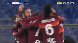 GOLO! Roma, E. Džeko aos 72', Roma 1-0 Sampdoria