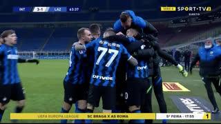 GOLO! Internazionale, L. Martínez aos 64', Internazionale 3-1 Lazio