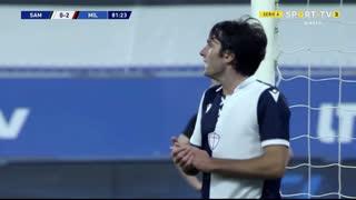 GOLO! Sampdoria, A. Ekdal aos 82', Sampdoria 1-2 Milan