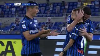 GOLO! Atalanta, A. Gómez aos 61', Lazio 1-4 Atalanta