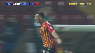 GOLO! Benevento, G. Letizia aos 45'+3', Benevento 1-1 Juventus