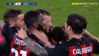 GOLO! Milan, A. Rebić aos 78', Juventus 0-2 Milan