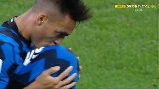 GOLO! Internazionale, L. Martínez aos 45'+2', Internazionale 1-1 Fiorentina