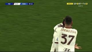 GOLO! Roma, A. Diawara aos 88', Fiorentina 1-2 Roma