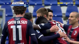 GOLO! Bologna, R. Soriano aos 70', Bologna 3-1 Sampdoria