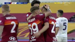 GOLO! Roma, Borja Mayoral aos 90', Roma 5-0 Crotone