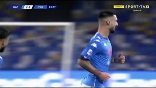 GOLO! Napoli, M. Politano aos 82', Napoli 2-0 Parma