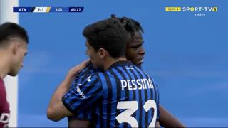 GOLO! Atalanta, D. Zapata aos 61', Atalanta 3-1 Udinese