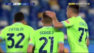 GOLO! Lazio, S. Milinković-Savić aos 74', Napoli 4-2 Lazio