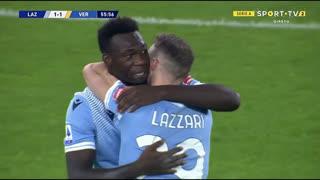GOLO! Lazio, F. Caicedo aos 56', Lazio 1-2 Verona