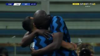 GOLO! Internazionale, A. Sánchez aos 62', Parma 0-2 Internazionale