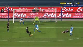 GOLO! Bologna, R. Soriano aos 73', Napoli 2-1 Bologna