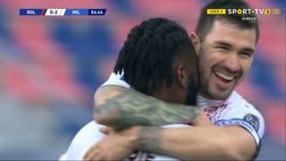 GOLO! Milan, F. Kessié aos 55', Bologna 0-2 Milan