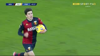 GOLO! Genoa, E. Shomurodov aos 50', Genoa 1-2 Parma