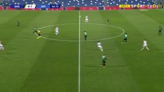 GOLO! Juventus, Cristiano Ronaldo aos 45', Sassuolo 0-2 Juventus