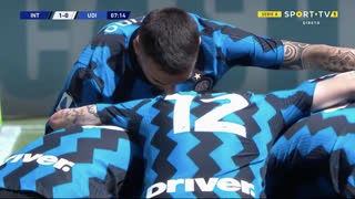GOLO! Internazionale, A. Young aos 8', Internazionale 1-0 Udinese