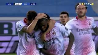 GOLO! Milan, F. Kessié aos 43', Atalanta 0-1 Milan