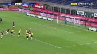 GOLO! Milan, F. Kessié aos 90'+7', Milan 1-1 Udinese