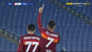 GOLO! Roma, L. Pellegrini aos 68', Roma 3-0 Torino