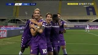 GOLO! Fiorentina, G. Castrovilli aos 78', Fiorentina 1-0 Torino