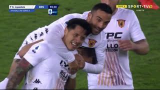 GOLO! Benevento, G. Lapadula aos 56', Verona 1-1 Benevento
