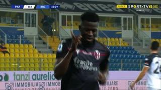 GOLO! Bologna, M. Barrow aos 33', Parma 0-2 Bologna
