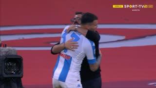 GOLO! Napoli, A. Petagna aos 68', Napoli 2-1 Sampdoria