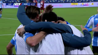 GOLO! Napoli, Fabián Ruiz aos 64', Napoli 2-0 Roma