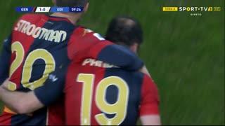 GOLO! Genoa, G. Pandev aos 8', Genoa 1-0 Udinese