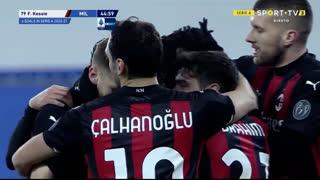 GOLO! Milan, F. Kessié aos 45', Sampdoria 0-1 Milan