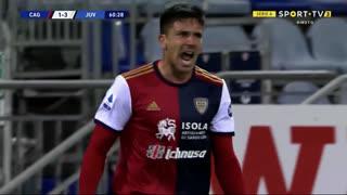 GOLO! Cagliari, G. Simeone aos 61', Cagliari 1-3 Juventus
