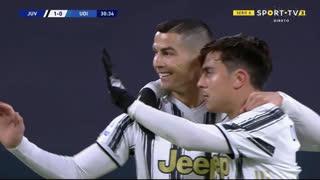 GOLO! Juventus, Cristiano Ronaldo aos 31', Juventus 1-0 Udinese