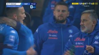 GOLO! Napoli, P. Zieliński aos 58', Atalanta 1-1 Napoli