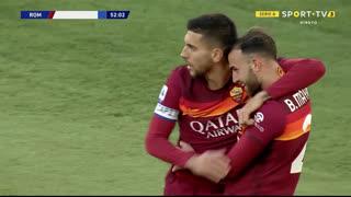 GOLO! Roma, Borja Mayoral aos 52', Roma 2-1 Spezia