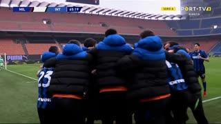 GOLO! Internazionale, R. Lukaku aos 66', Milan 0-3 Internazionale