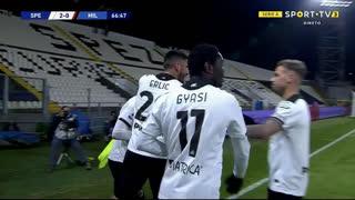 GOLO! Spezia, S. Bastoni aos 67', Spezia 2-0 Milan